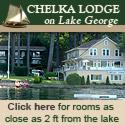 The Chelka Lodge on Lake George