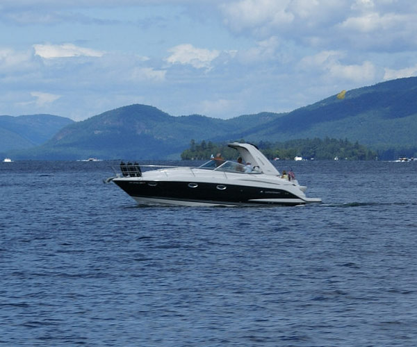 Boat on Lake George