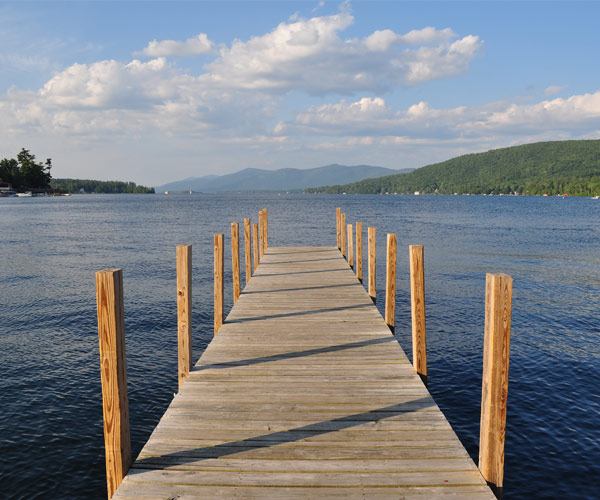 Dock on Lake George
