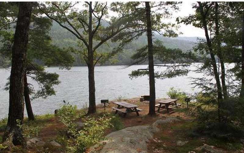 Log Bay Island Camping On Lake George Ny