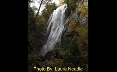 Rainbow Falls at Ausable Club