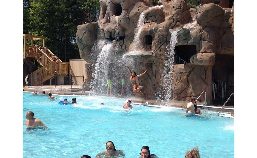 Lake George Area Camping Resort With Heating Swimming Pool
