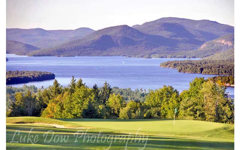 View over the 10th hole at Top of the World Golf Course