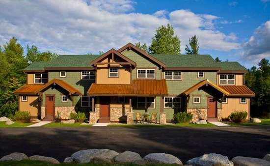 Beautiful town homes nestled in the adirondacks the for Wilmington ny cabin rentals