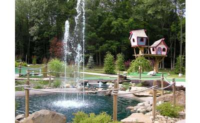 Rent cabins, pitch a tent or bring your RV & enjoy mini golf, our private lake and two pools near Saratoga Springs