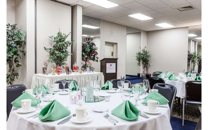 Plan your next event at the Albany Ramada's ballroom.