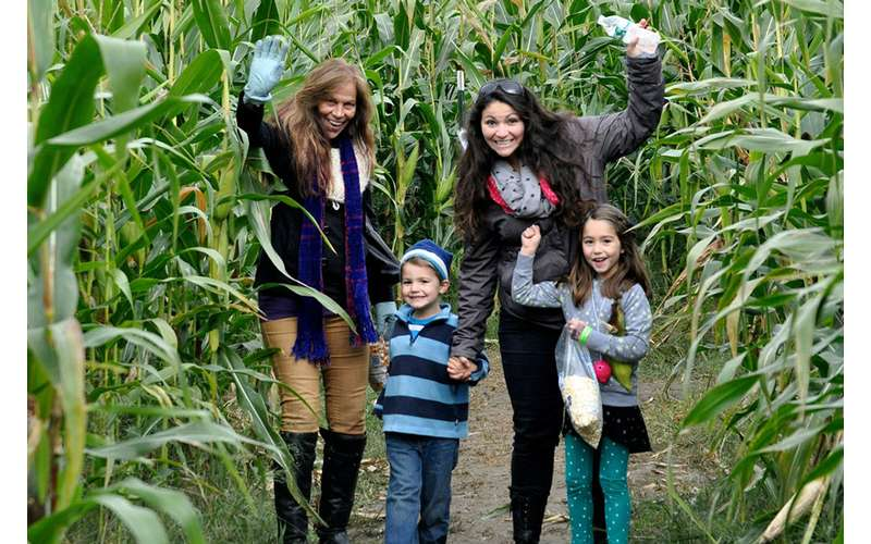 The Amazing Maize Corn Maze is great for families, but the Kiddie Corn Maze is perfect for younger kids.