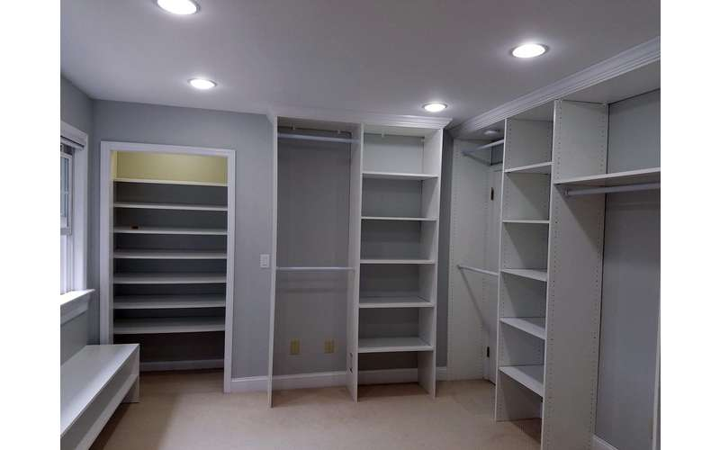 Build the master closet of your dreams!