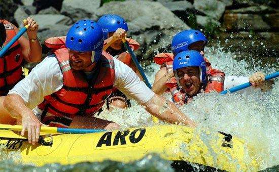 Adirondack River Outfitters Whitewater Rafting On The