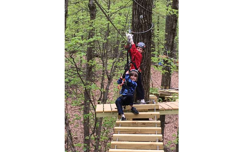 Mountain Ridge Adventure is perfect for all ages and abilities!
