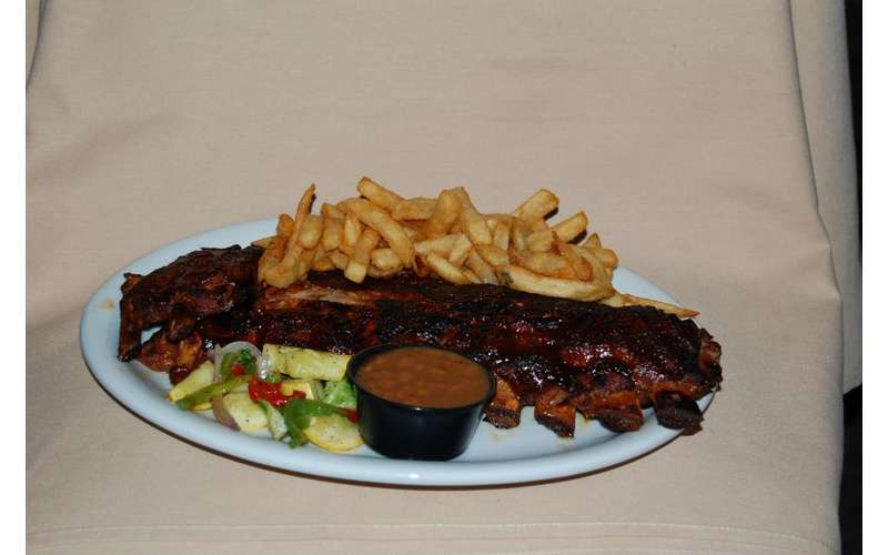 Area's best mouth watering ribs!
