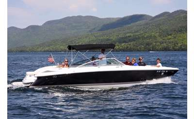Enjoy a fun and relaxing trip on Lake George with Bolton Boat Tours!