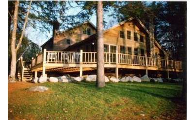 Vacation at this beautiful lakefront property and have plenty of room to spread out with your family.