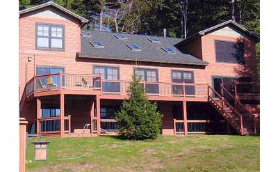 There's room for the whole extended family to stay at Adirondack Dreaming!
