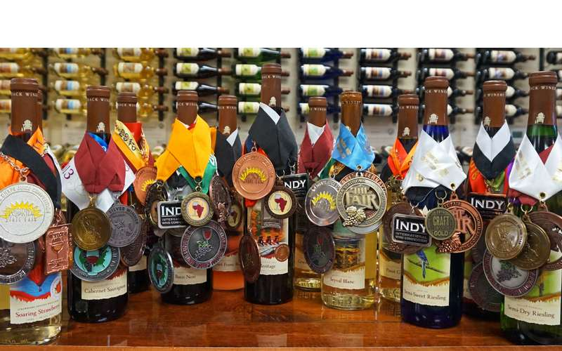 Our Wines have won over 150 medals at International Wine Competitions