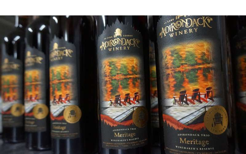 Our Meritage Wine Maker's Reserve, Limited Edition, Aged in Oak Barrels for more than two years