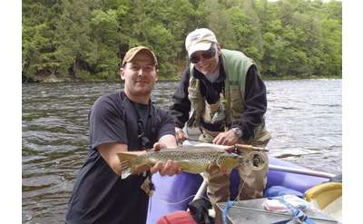 Book a float trip with Beaver Brook Outfitters and enjoy fly fishing in the Adirondacks.