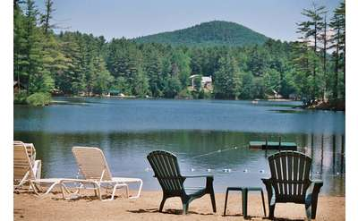 Located just 4 miles from Lake George Village on beautiful Lake Vanare