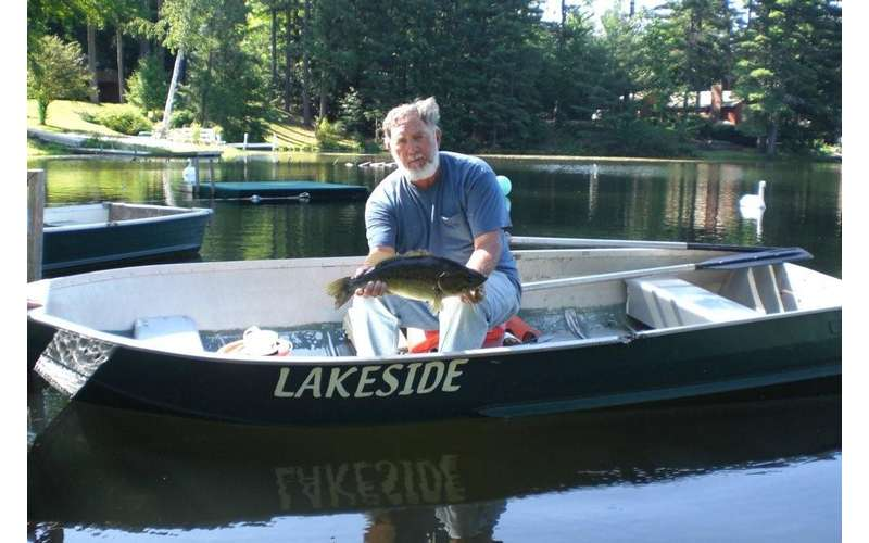 The Lake is home to Big Bass!  Fishing is a popular activity
