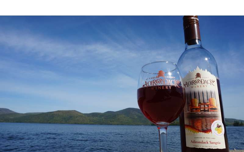 Adirondack Sangria, our official wine of the summer!