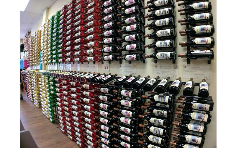 Don't miss a picture at our famous #WallofWine!