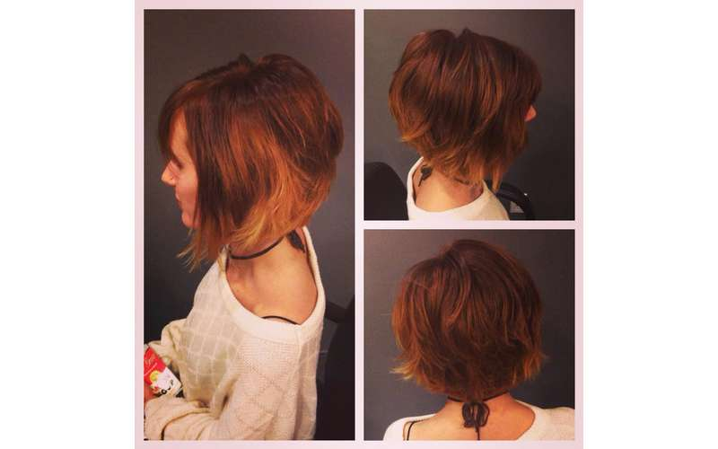 Textured bob {crafted by Chelsea}