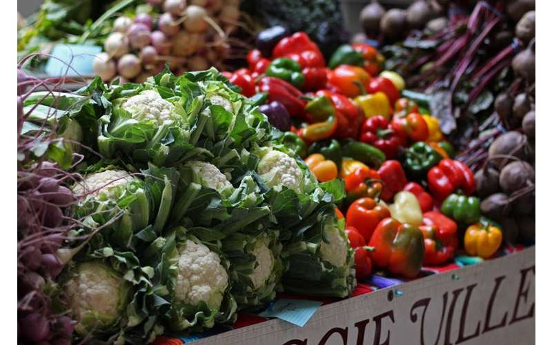 Fresh vegetables, artisan goods, and more are offered at Saratoga Farmers' Market Association's markets.