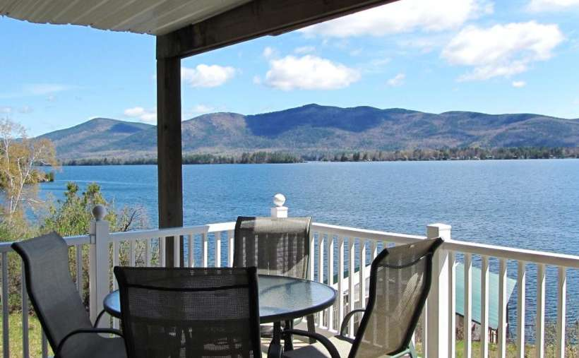Have lunch while taking in the scenic Adirondack Mountains and a spectacular view of Lake George