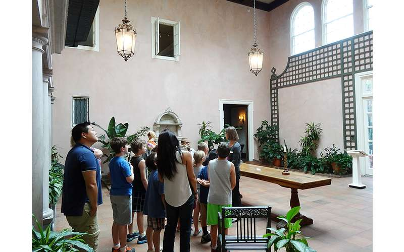 Free Weekend tours at 1pm and 2pm