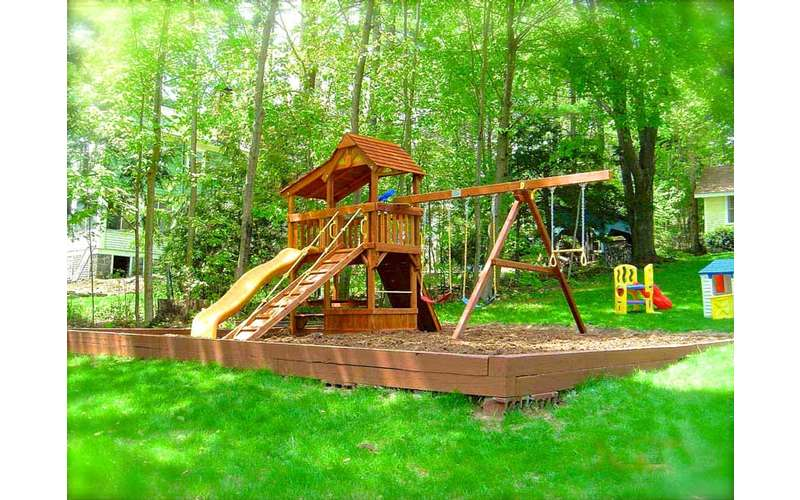 Your kids will love our playground and open green space!