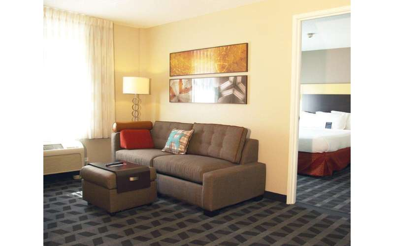 Relax in the Living Room Area of Your Two-Bedroom Suite