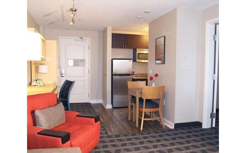 The One-Bedroom Suites Are Spacious