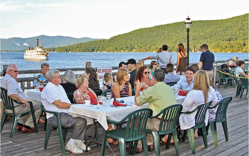 The deck is also available for private parties and events!