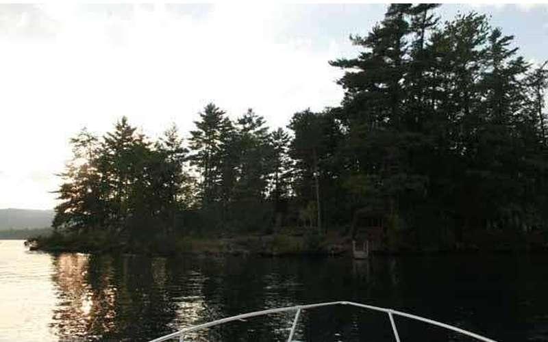 Juanita Island Camping On Lake George