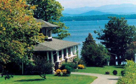 Normandie beach resort hotel resort on lake champlain for Lake champlain cabins and cottages