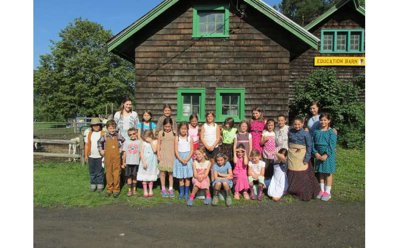 Barn School at Indian Ladder Farms -Life on the Farm in the 1800's  (Dress as an old farmer day!)