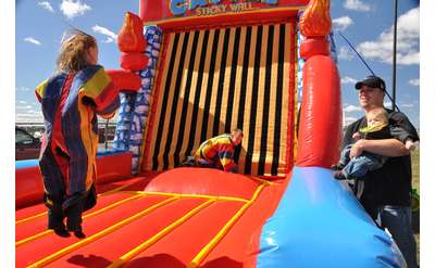 Jumping Bean Party Rental -- Bounce Houses, Waterslides, Food Machines, Tents, Tables & More