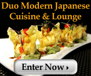 Win a $50 Gift Card to Duo Modern Japanese Cuisine & Lounge