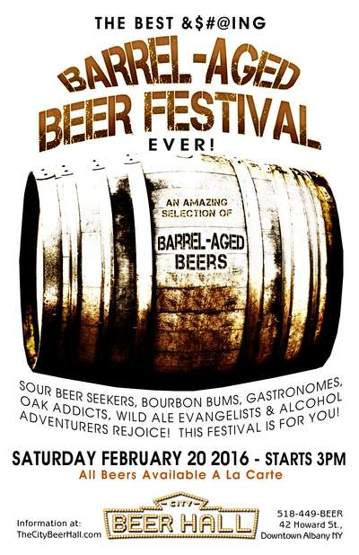 Barrel- Aged Beer Festival