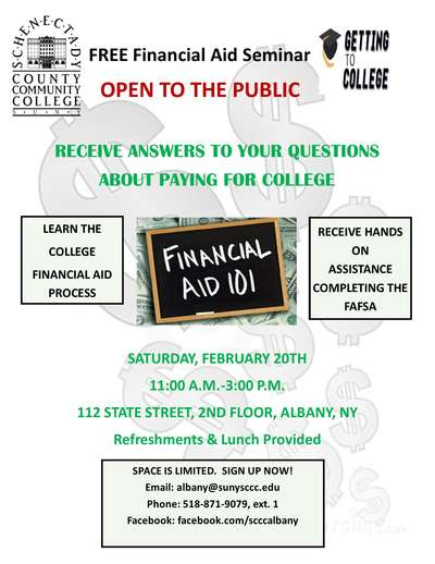 Financial Aid 101 - Learn the ins and outs of the College Financial Aid Process