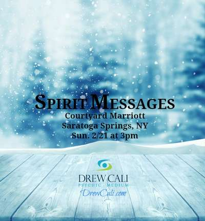 Spirit Messages - Gallery with Psychic-Medium Drew Cali