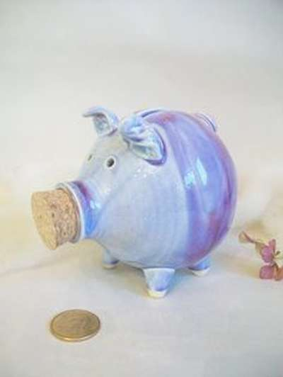 Make a Clay Piggy Bank