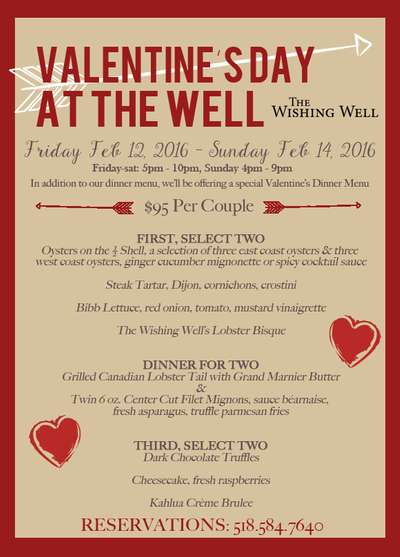 Valentine's Day at The Wishing Well