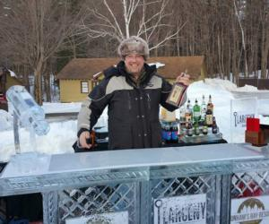 <PRE>Dunham's Bay Resort's Ice Bar</PRE>