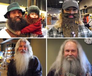 <PRE>Wild Whiskers Beard Contest</PRE>