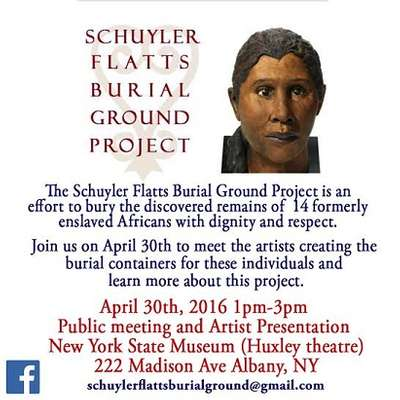 Schuyler Flatts Burial Ground Project:  Public Meeting and Artist Presentation