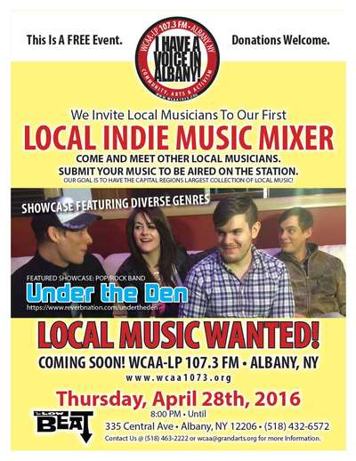 Local Indie Music Mixer