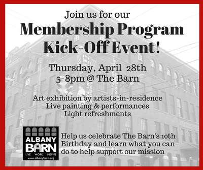 Tiers for Years: Albany Barn Membership Kick-Off