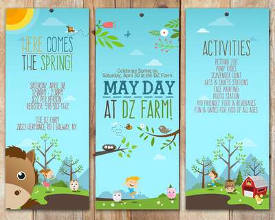 It's Mayday at The DZ Farm!