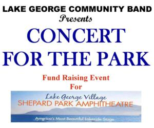 <PRE>Concert for the Park</PRE>
